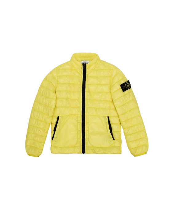 STONE ISLAND JUNIOR Mittellange Jacke  40332 GARMENT DYED MICRO YARN DOWN PROOF