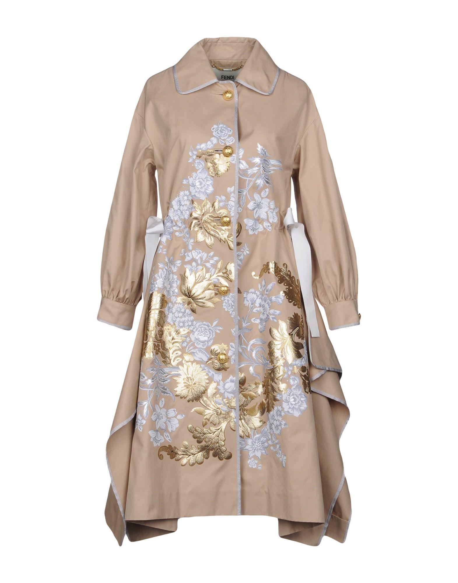 FENDI Легкое пальто charli легкое пальто