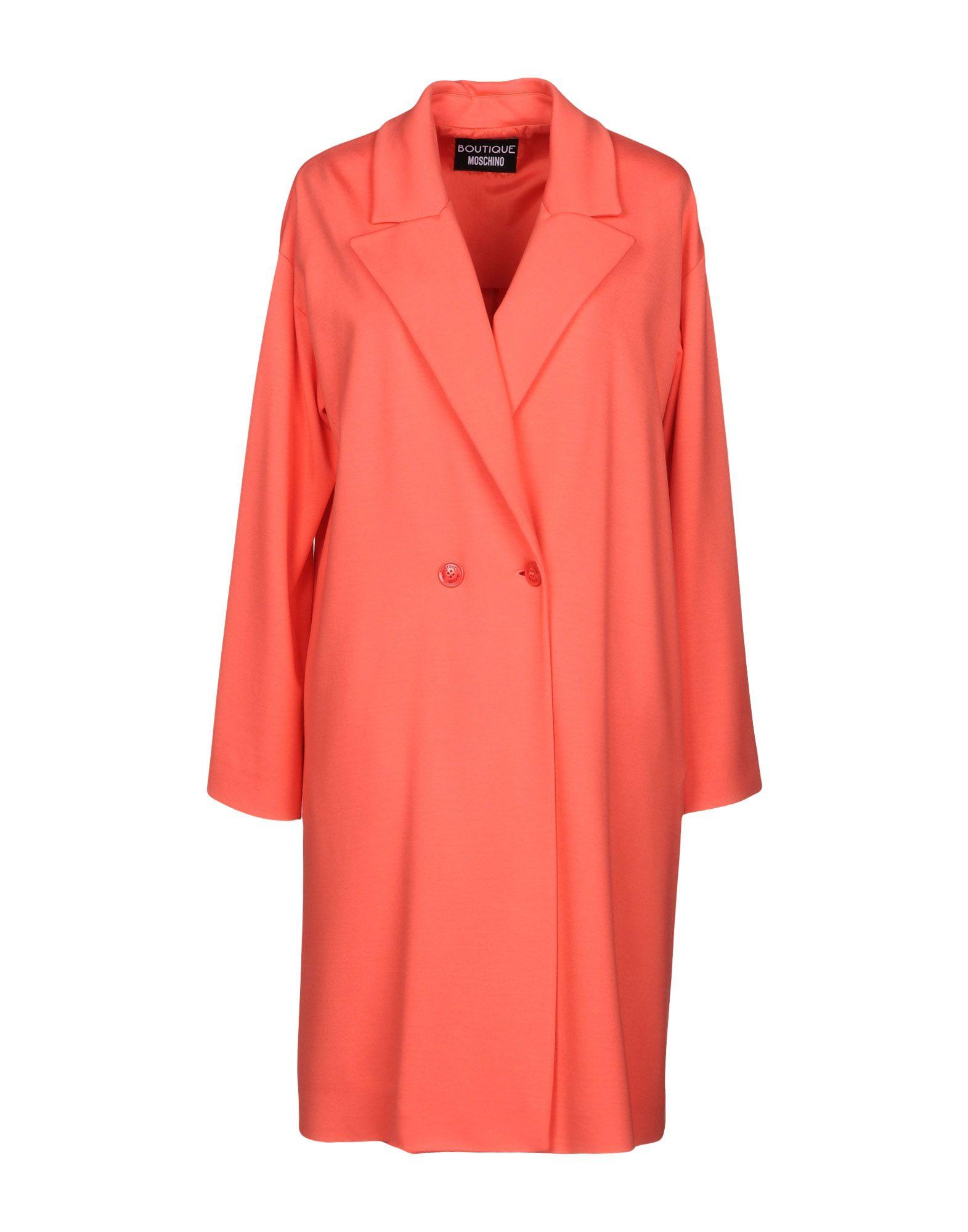 BOUTIQUE MOSCHINO Легкое пальто moschino couture легкое пальто