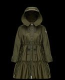 MONCLER TURQUOISE - Parka - mujer