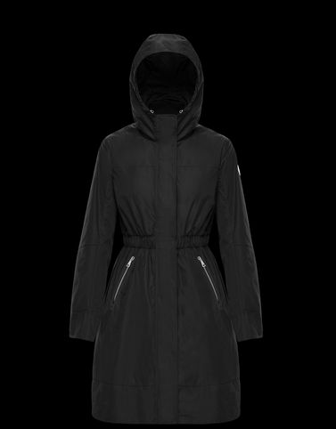 DISTHELON Black Coats & Trench Coats