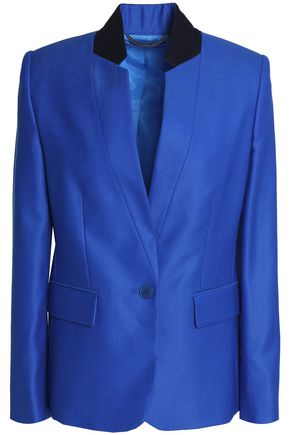 STELLA McCARTNEY Wool-piqué blazer