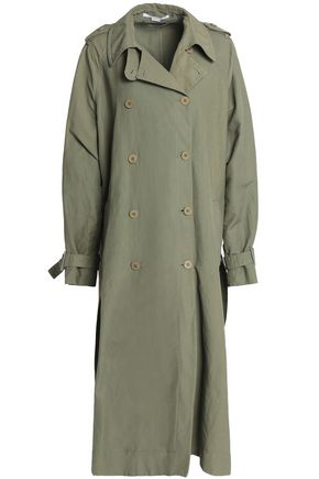 STELLA McCARTNEY Canvas trench coat