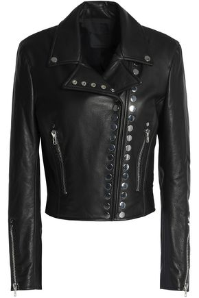 ALEXANDER WANG Studded leather biker jacket