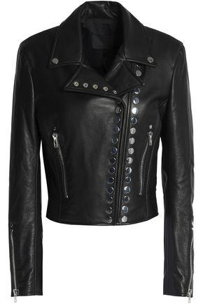 ALEXANDER WANG Studded leather biker jacket