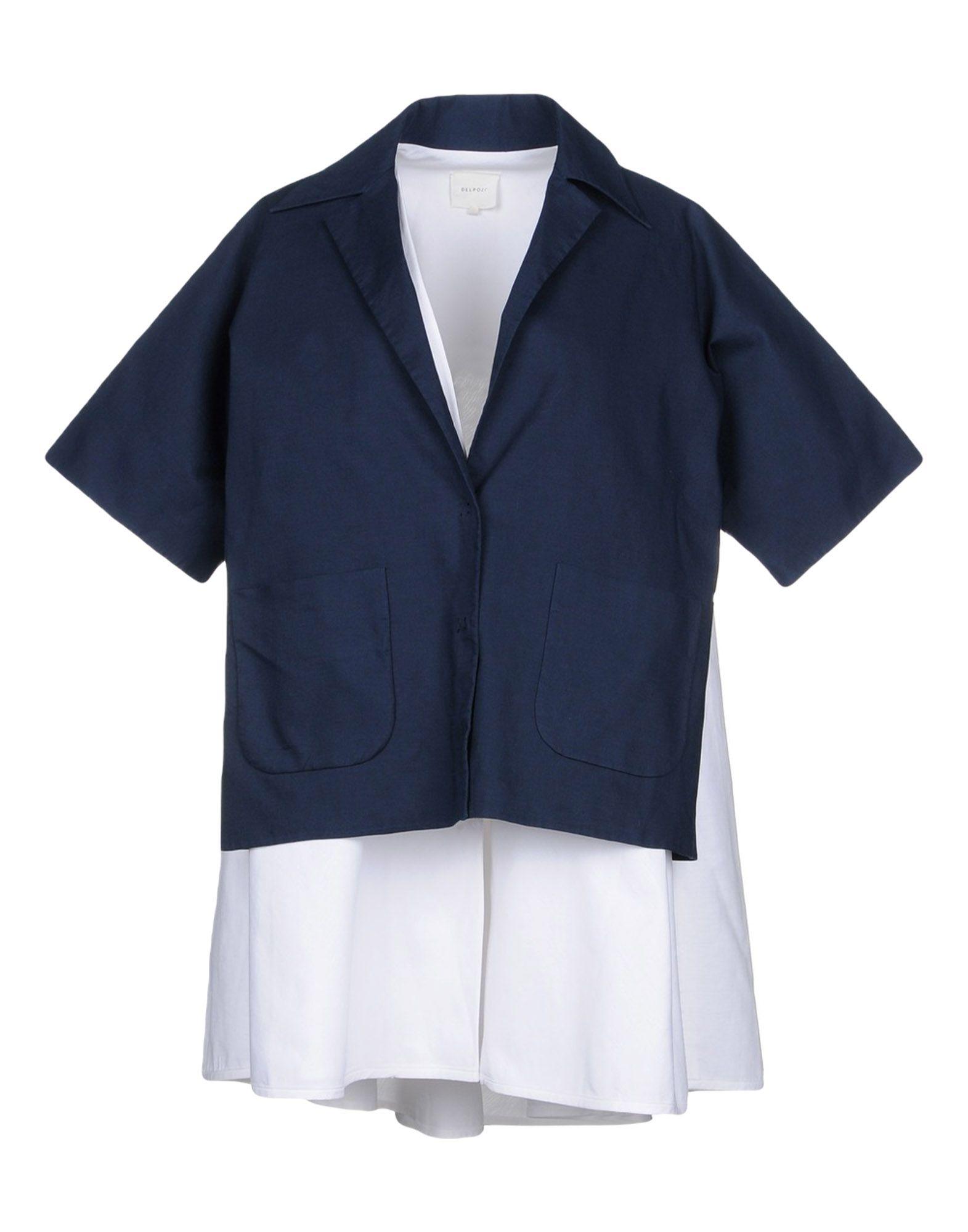 DELPOZO Легкое пальто пальто naumi пальто короткие