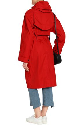 ISABEL MARANT ÉTOILE Twill hooded trench coat