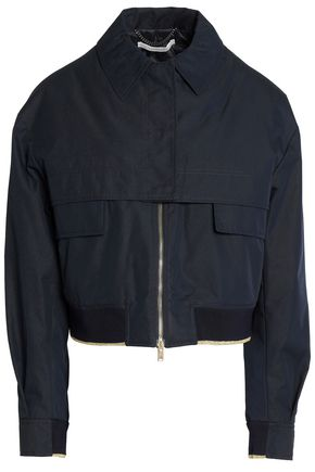 STELLA McCARTNEY Cropped cotton-blend twill jacket