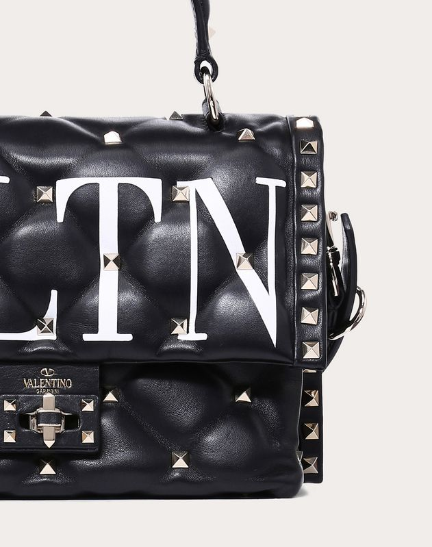 VLTN Candystud Top Handle Bag