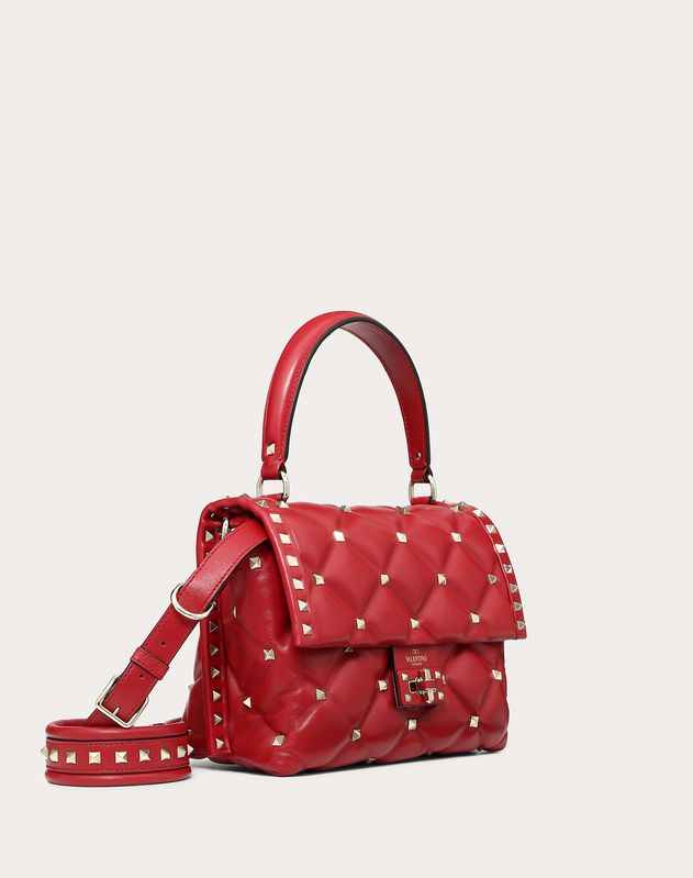 MEDIUM CANDYSTUD NAPPA LEATHER HANDBAG