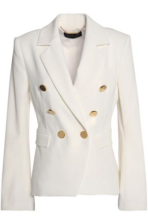 RACHEL ZOE Double-breasted twill blazer