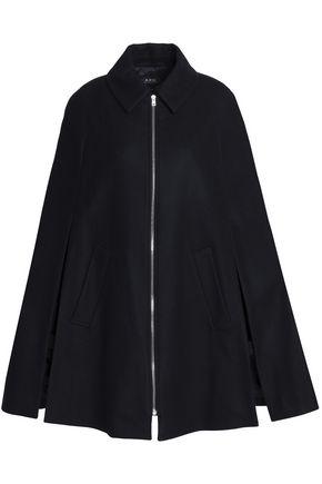 A.P.C. Wool-blend cape