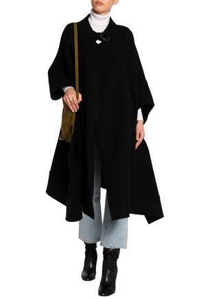 CHLOÉ Wool-blend poncho