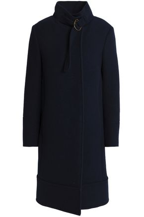 CHLOÉ Wool and angora-blend coat