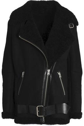 MUUBAA Darma shearling biker jacket