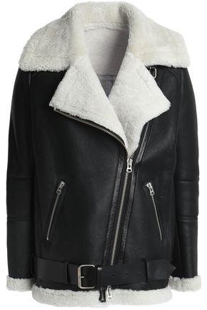MUUBAA Shearling biker jacket