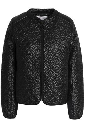 SEE BY CHLOÉ Qilted shell bomber jacket