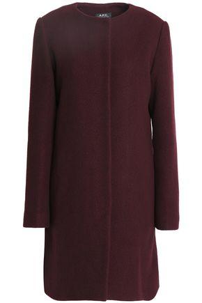 A.P.C. Wool-blend felt coat
