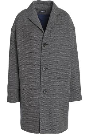 A.P.C. Cotton and silk-blend coat