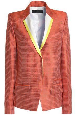 HAIDER ACKERMANN Silk-jacquard blazer