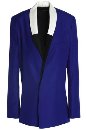 HAIDER ACKERMANN Double-breasted silk-crepe blazer