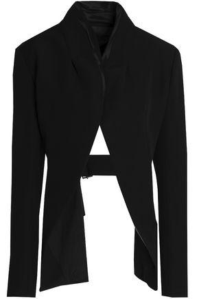 HAIDER ACKERMANN Cutout wool-twill jacket