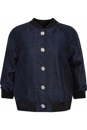 3.1 PHILLIP LIM Cotton and silk-blend bomber jacket