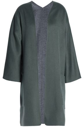 VINCE. Reversible cashmere and wool-blend coat