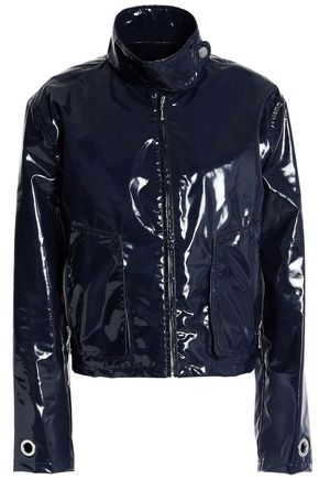 LOVE MOSCHINO Coated waterproof jacket