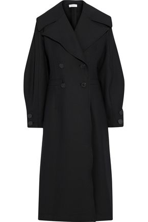 BEAUFILLE Double-breasted ponte coat