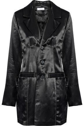 BEAUFILLE Alecto satin-crepe blazer