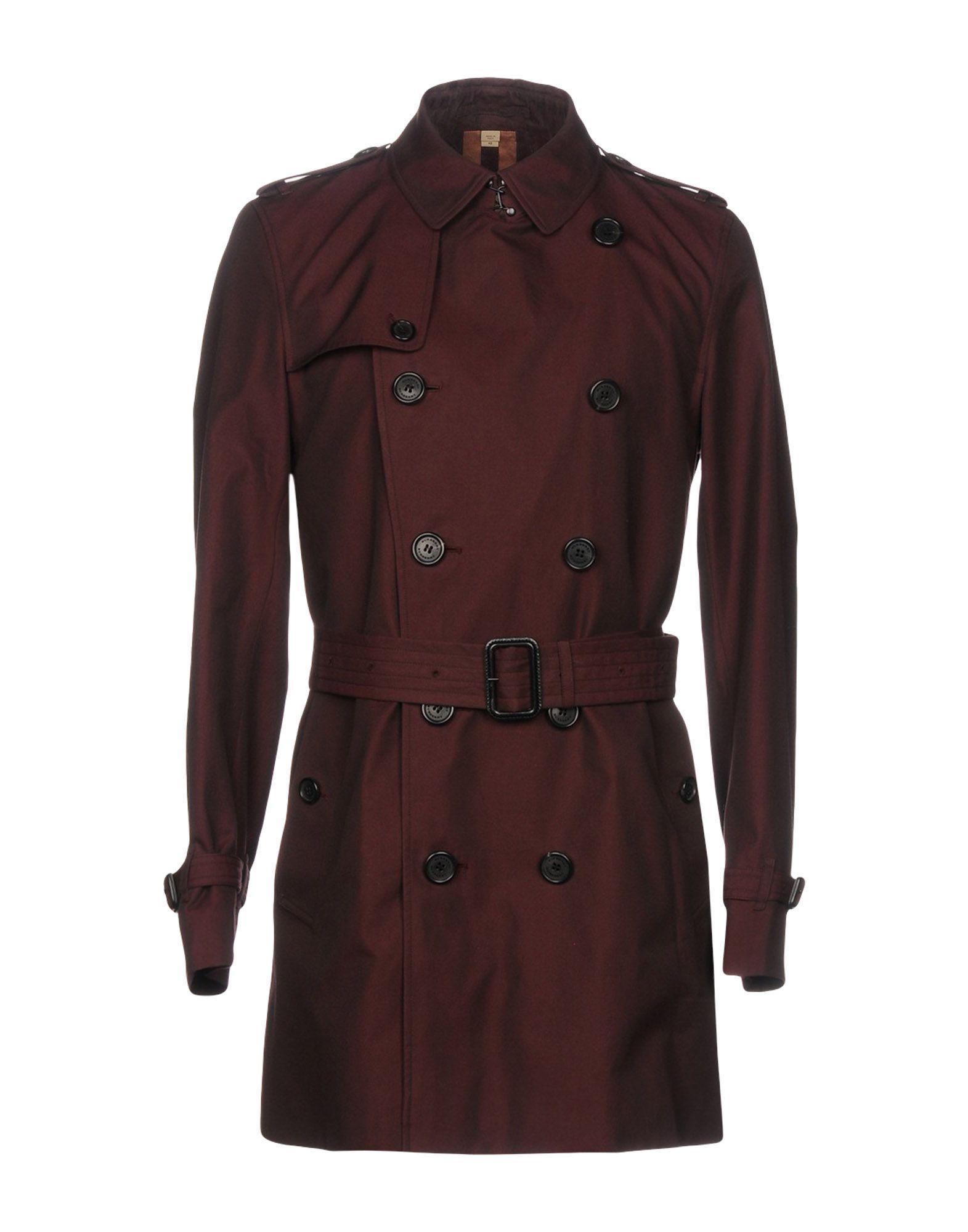 BURBERRY Легкое пальто burberry хлопковое пальто