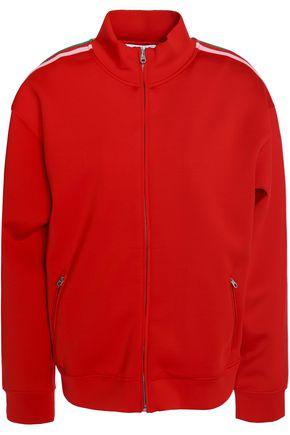 SANDRO Paris Striped neoprene jacket