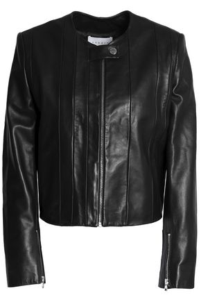 SANDRO Paris Leather jacket