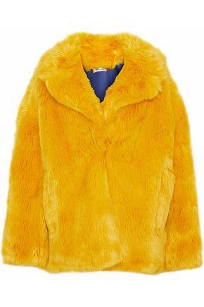 DIANE VON FURSTENBERG Faux fur coat