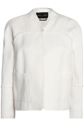 PROENZA SCHOULER Matelassé cotton and wool-blend jacket