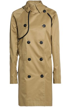 COACH Convertible cotton-gabardine trench coat