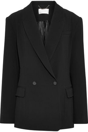 ZIMMERMANN Double-breasted crepe blazer
