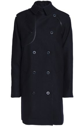 COACH Convertible double-breasted wool-blend coat