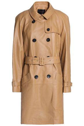 COACH Leather trench coat