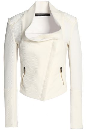 ROLAND MOURET Cotton-blend piqué jacket