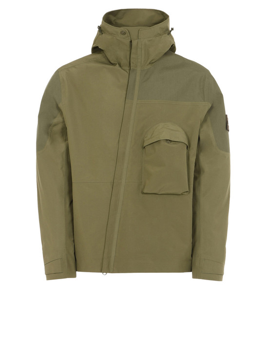 STONE ISLAND Giubbotto 426F1 GHOST PIECE_TANK SHIELD  FEATURING MULTI LAYER FUSION TECHNOLOGY