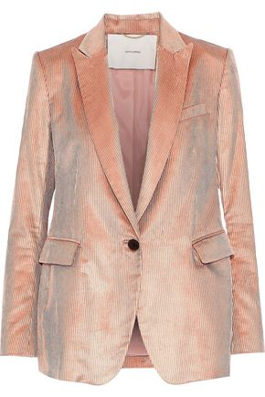 ADAM LIPPES Cotton-blend corduroy blazer