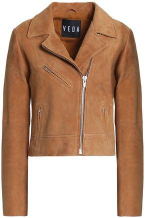 VEDA Suede biker jacket
