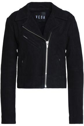 VEDA Nova suede biker jacket
