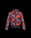 MONCLER ABRICOT IMPRIMÉ - Short outerwear - women