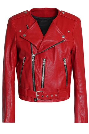 MARC JACOBS Leather biker jacket