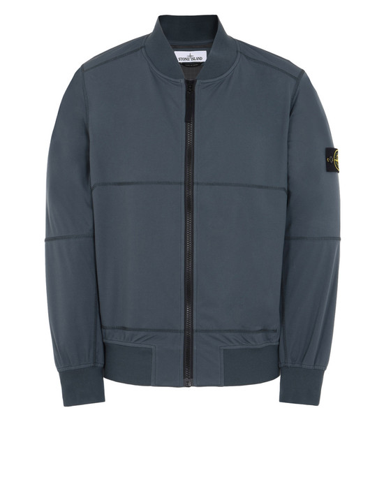 STONE ISLAND LIGHTWEIGHT JACKET 42526 LIGHT SOFT SHELL SI CHECK GRID