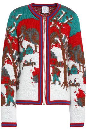 STELLA JEAN Intarsia-knit cardigan