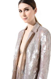 ALBERTA FERRETTI Single-breasted jacket with sequins Blazer Woman d